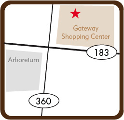 Map of 9901 N. Capital of TX Hwy